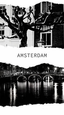 Photograph - Amsterdam Poster by Jenny Rainbow