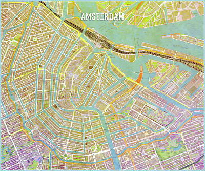 Digital Art - Amsterdam Two by Gary Grayson