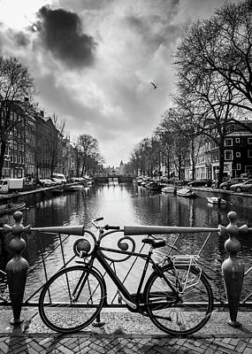 Photograph - Amsterdam View by Framing Places