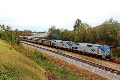 Photograph - Amtrak Silver Star 47 by Joseph C Hinson Photography