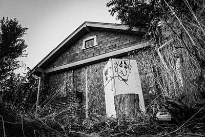 Photograph - An Abandoned Home With A Personality  by Kevin Schwalbe