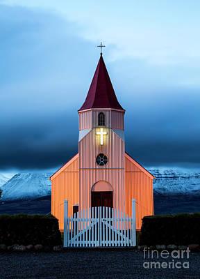 Wall Art - Photograph - An Eerie Church by Sebastien Coell