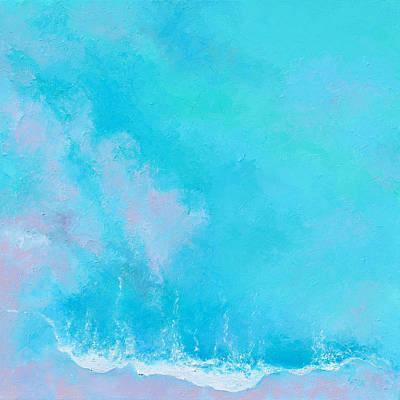 Painting - An Emerald Ocean by Jan Matson