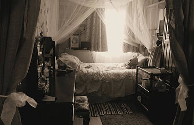 Photograph - An English Boudoir by Kathy K McClellan