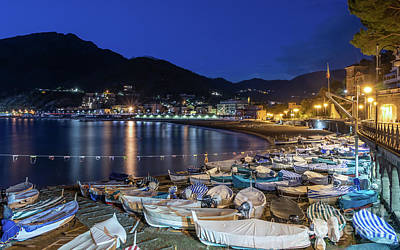 An Evening In Levanto Art Print