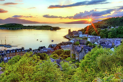 Photograph - An Oban Sunset - Scotland - Landscape by Jason Politte