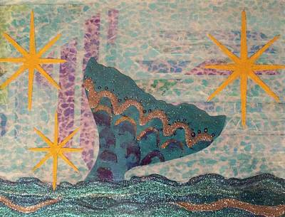 Mixed Media - An Ocean Tale by Strangefire Art Scylla Liscombe