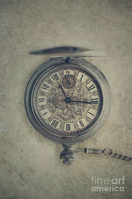 Photograph - An Open Pocket Watch by Jelena Jovanovic