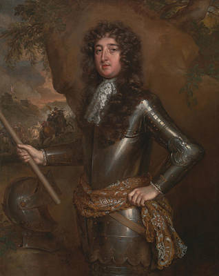 Painting - An Unknown Man, Probably The 9th Earl Of Derby by Willem Wissing