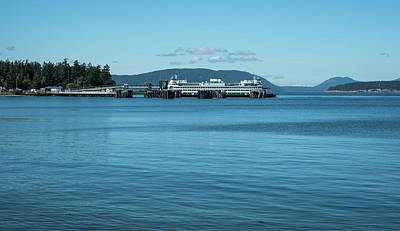 Photograph - Anacortes Sidney Bc Ferry by Tom Cochran