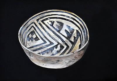 Painting - Anasazi Bowl by Jennifer Kelly
