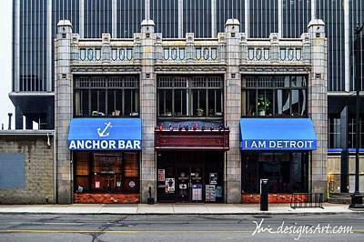 Digital Art - Anchor Bar Dsc_1202 by Michael Thomas