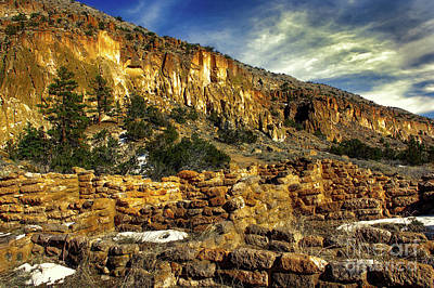 Photograph - Ancient Bandelier by Susan Warren