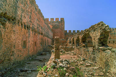 Photograph - Ancient Fortress In Frangokastello by Sun Travels