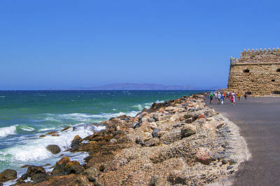 Photograph - Ancient Harbor Of Heraklion by Sun Travels