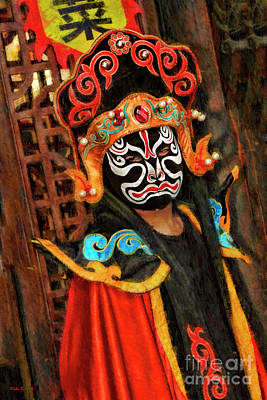Photograph - Ancient Traditions Sichuan Opera  by Blake Richards