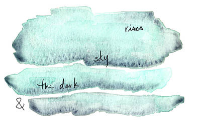 Painting - And The Dark Sky Rises by Anna Elkins