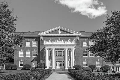 Photograph - Anderson University Merritt Hall by University Icons