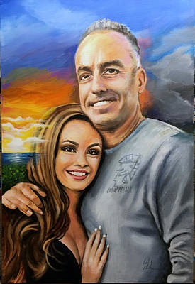 Painting - Andrew And Meadow Pollack by Robert Korhonen