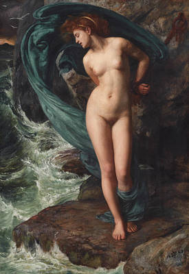 Painting - Andromeda by Edward Poynter