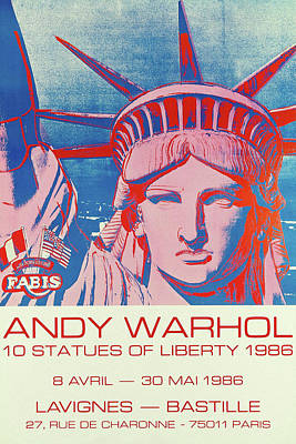 Marvelous Marble - Andy Warhol 11 by Andrew Fare