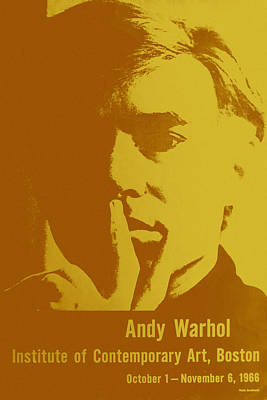 Photograph - Andy Warhol 12 by Andrew Fare