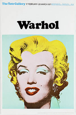 Photograph - Andy Warhol 8 by Andrew Fare
