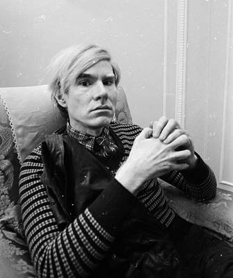 Photograph - Andy Warhol by Powell