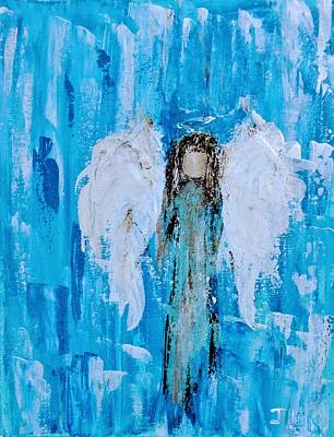 Painting - Angel Among Angels by Jennifer Nease