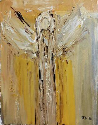 Painting - Angel For Determination by Jennifer Nease