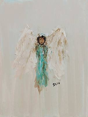 Painting - Angel For Strength by Jennifer Nease