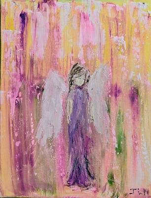Angel In  Paradise Art Print