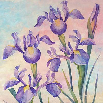 Wall Art - Mixed Media - Angel Iris - Joyful by Amanda Lakey