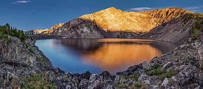 Photograph - Angel Lake by Leland D Howard