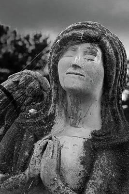 Photograph - Angel Of Prayer by James L Bartlett