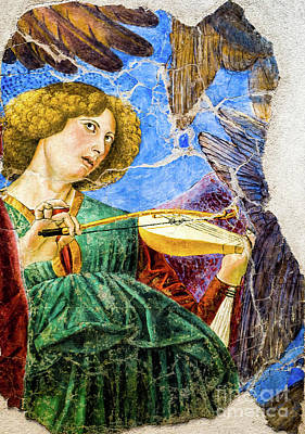 Painting - Angel Playing The Rebec by Melozzo da Forti