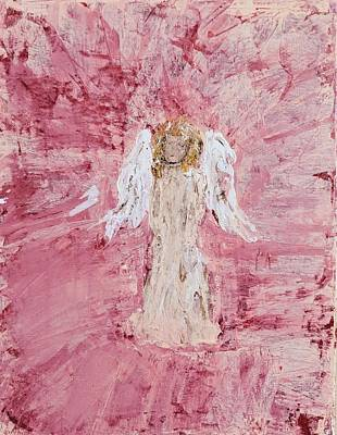 Angel Was Lost But Now Is Found  Art Print