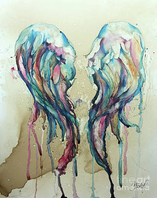 Painting - Angel Wings by Christy Freeman Stark