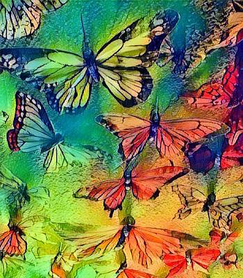 Photograph - Angels Butterfly Wings by Kimberly Woyak