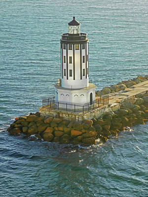 Photograph - Angels Gate Lighthouse San Pedro Ca by Emmy Marie Vickers