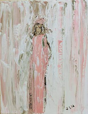 Painting - Angels In Pink by Jennifer Nease