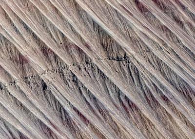 Photograph - Angled Desert Strata by Britt Runyon