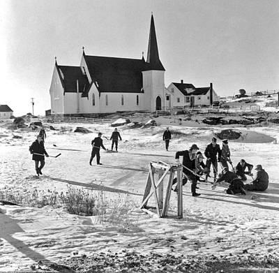 Soap Suds - Anglican Church  Peggys Cove  Nova Scotia 1950s Nova Scotia by Celestial Images