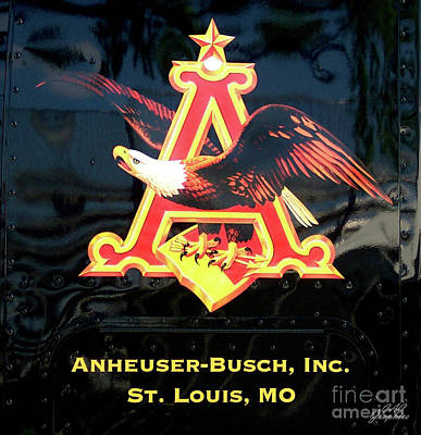 Photograph - Anheuser-busch Eagle by CAC Graphics