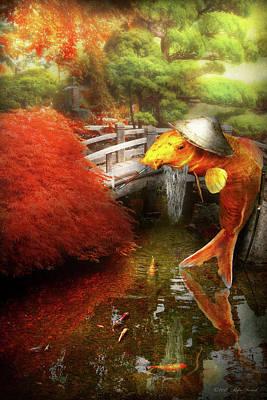 Photograph - Animal - Fish - The Wandering Samurai by Mike Savad
