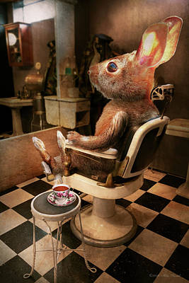 Photograph - Animal - Rabbit - Hare Cut by Mike Savad