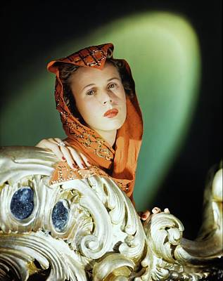 Photograph - Animal Trainer Priscilla St. George by Horst P. Horst
