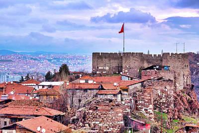 Photograph - Ankara Castle by Fabrizio Troiani