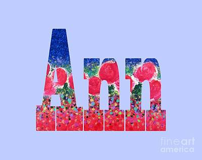 Digital Art - Ann by Corinne Carroll