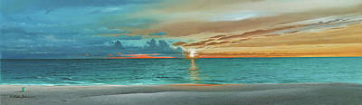 Painting - Anna Maria Island Beach by Mike Brown